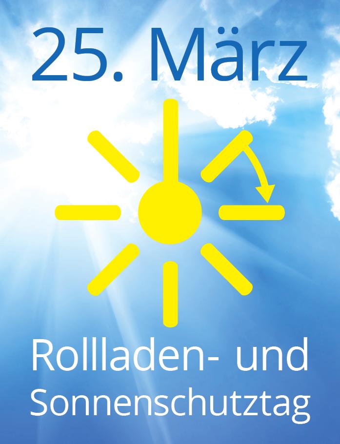 Rollladen- und Sonnenschutztag 25.März 2017