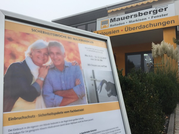 Sicherheitswoche bei Mauersberger 2019