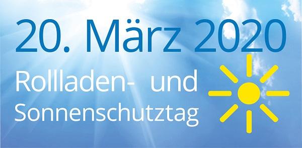 Rollladen- und Sonnenschutztag 20.3.2020